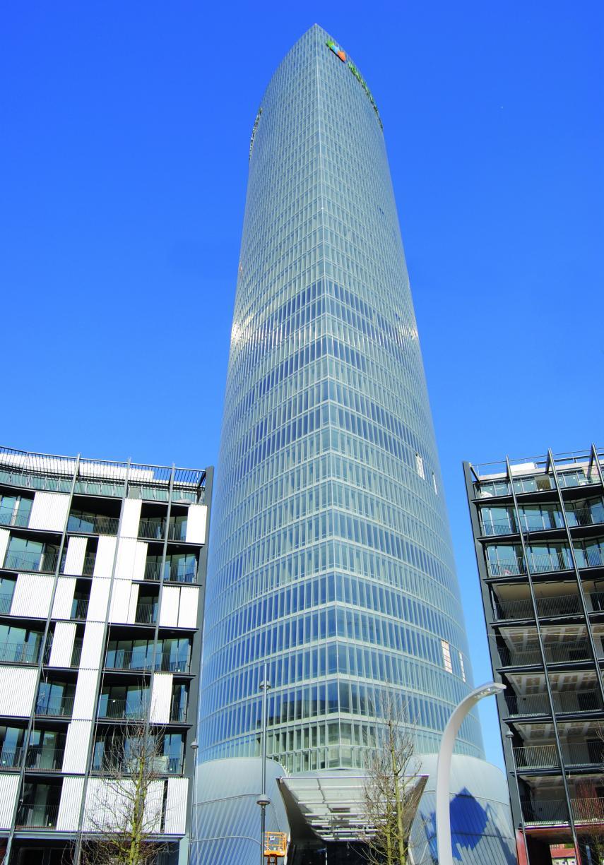 Torre iberdrola bilbao e for Iberdrola oficinas bilbao